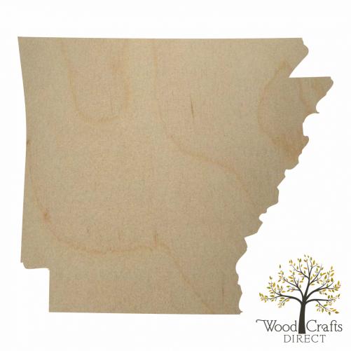 Wooden Arkansas Cutout