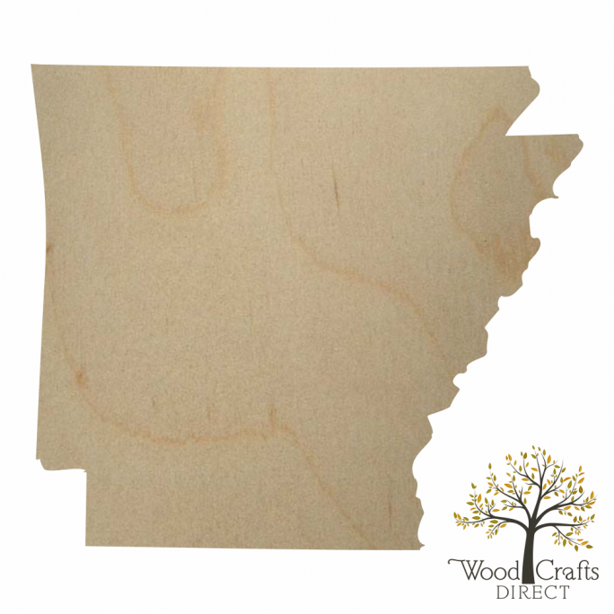 Wooden Arkansas Cutout