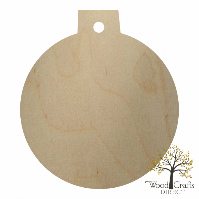 Wooden Christmas Ornament Cutout