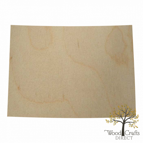 Wooden Colorado Cutout