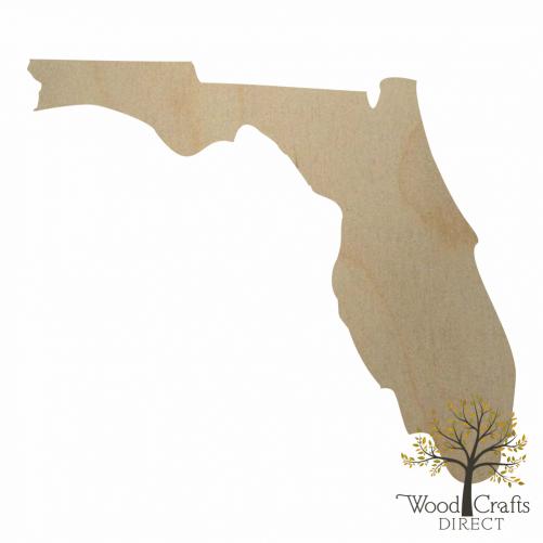 Wooden Florida Cutout
