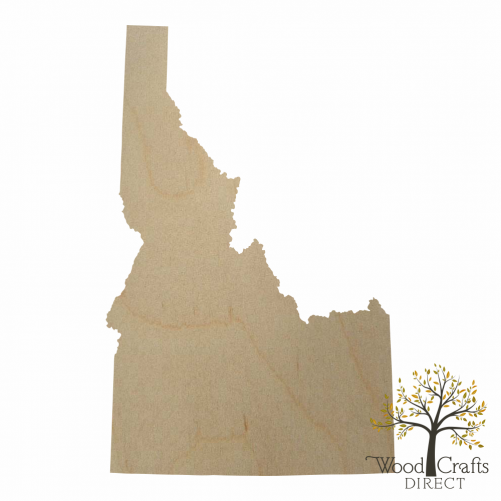 Wooden Idaho Cutout