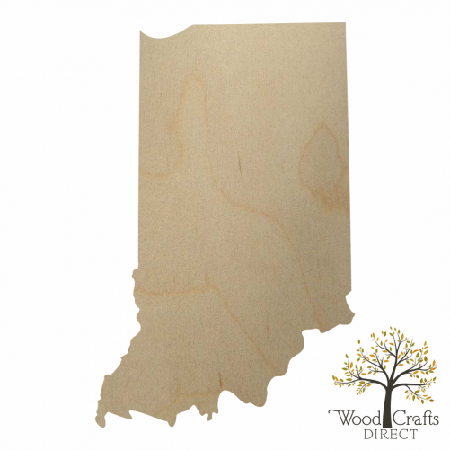 Wooden Indiana Cutout